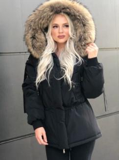 Черная куртка парка цена и стоимость
